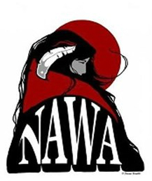 logo for native american women's association